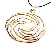 Golden spiral pendant for just $350 with free shipping