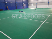 Badminton court roofing | Roofing in chennai
