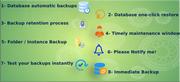 Backup & Restore Automation for Database & MySQL- Backup Restore Manag