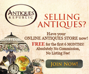 Selling Antiques? Have your ONLINE ANTIQUES STORE now for FREE!
